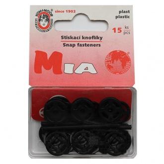 Gombík stláčací přišívací MIA - vel. 5/13mm (133140)
