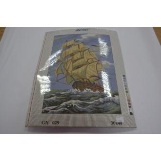 Obraz loď 30 x 40cm - (592526)