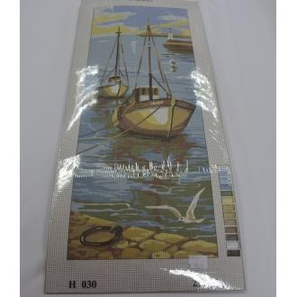 Obraz loď 25 x 60cm - (592648)