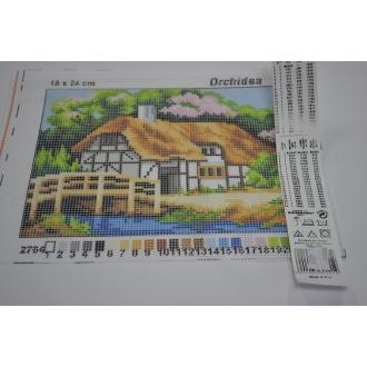 Obraz krajinka 18 x 24cm - (592127)