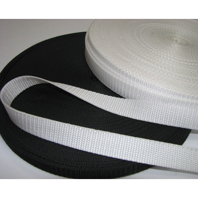 Popruh biely 1cm
