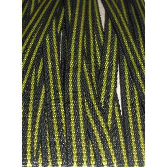 Popruh čierno-žltý 1cm