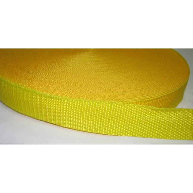 Popruh bledý žltý 3cm