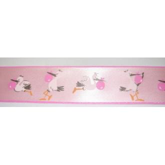 Saténová stuha detská s potlačou 40 mm