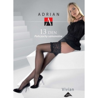 Adrian podväzkové silonky 15den VIVIAN 3/4 LION