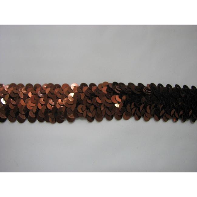 Elasický pásec 0,5m hnedý