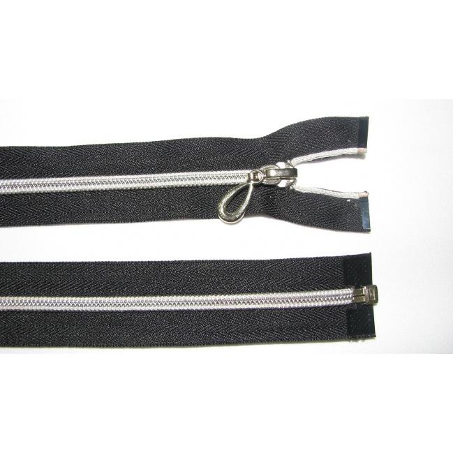 Zips špirála 5 pokovovaná deliteľná 40cm