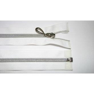 Zips špirála 5 pokovovaná deliteľná 65cm