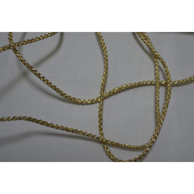 Točená šnúra zlatá š.3mm