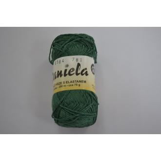 Daniela 75g - 6584 zelená