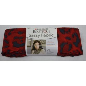 Sassy Fabric - červená Red Heart