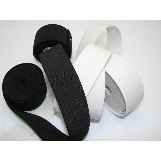 Guma prádlová š.4,5cm, čierna