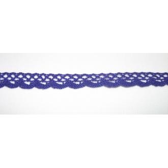 Krajka bavlna fialová 1,8cm