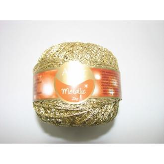 Arista 25g svetlo zlatá metalická