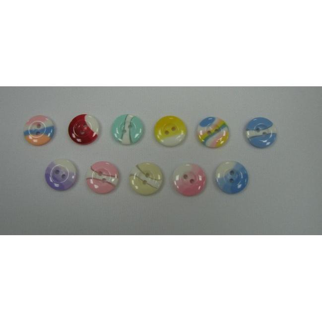 Blúzkové gombíky O 1,5cm