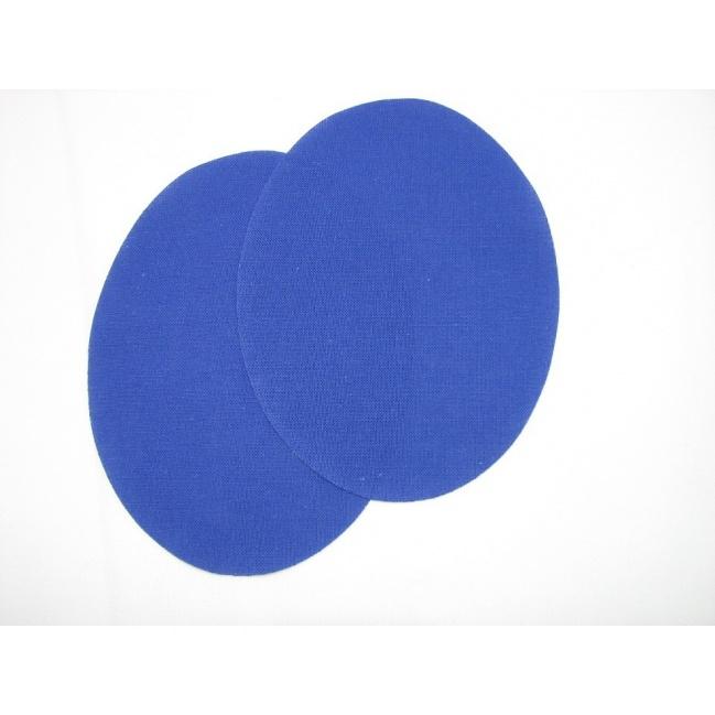 Nažehľovacie plátno - ovál kráľovská modrá