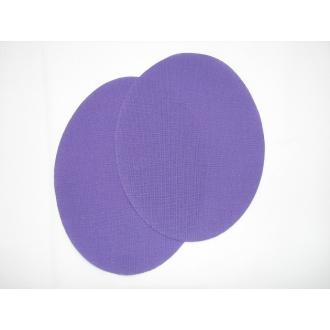 Nažehľovacie plátno - ovál,fialová