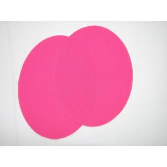 Nažehľovacie plátno - ovál,ružová