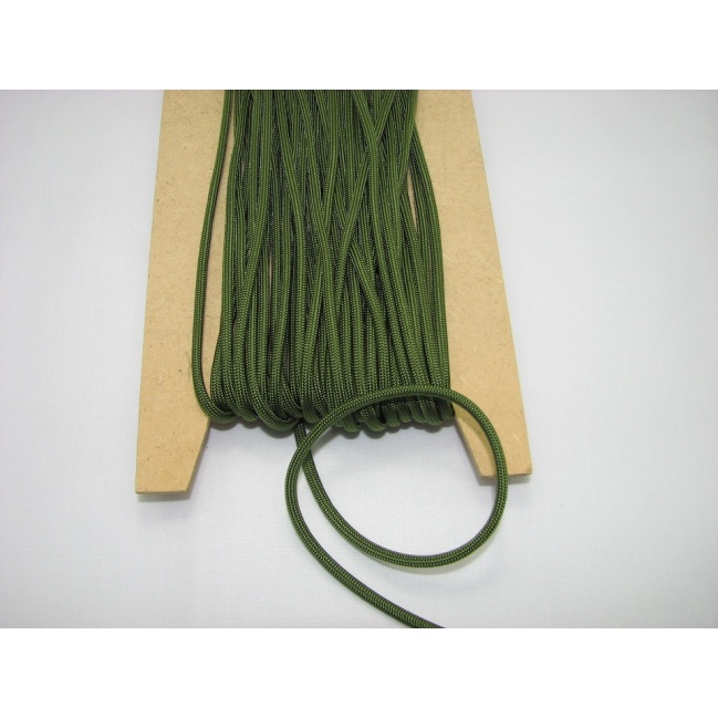 Šnúra padáková - olivová