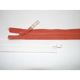 Zips kostenný del. obojsmerný- 45cm s gumičkou