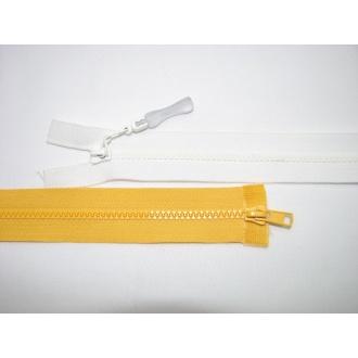 Zips kostenný del. obojsmerný- 50cm s gumičkou