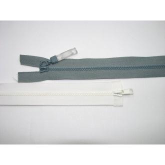 Zips kostenný del. obojsmerný- 60cm s gumičkou
