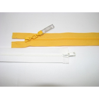 Zips kostenný del. obojsmerný- 65cm s gumičkou