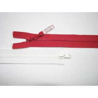 Zips kostenný del. obojsmerný- 70cm s gumičkou
