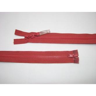 Zips kostenný del. obojsmerný- 75cm s gumičkou