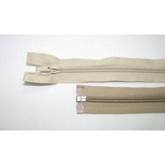 Zips špirála deliteľný 5mm - dĺžka 30cm,farba béžová