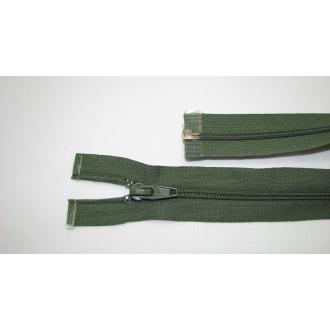 Zips špirála deliteľný 5mm - dĺžka 35cm, farba zelená