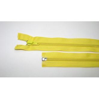 Zips špirála deliteľný 5mm - dĺžka 45cm farba žltá