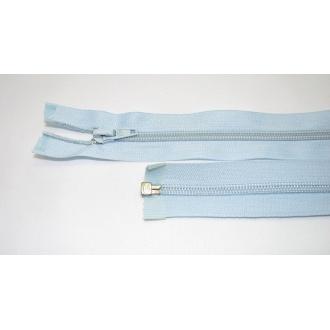Zips špirála deliteľný 5mm - dĺžka 55cm,svetlo modrá