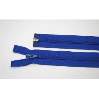 Zips špirála deliteľný 5mm - dĺžka 55cm,kráľovská modrá