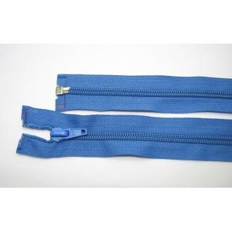 Zips špirála deliteľný 5mm - dĺžka 60cm,modrý