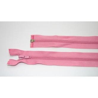 Zips špirála deliteľný 5mm - dĺžka 60cm,tmavo ružová