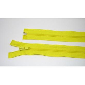 Zips špirála deliteľný 5mm - dĺžka 60cm,žltá