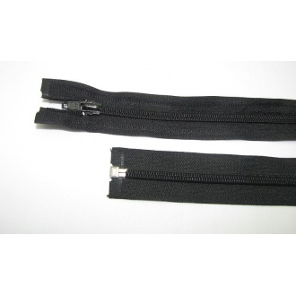Zips špirála deliteľný 5mm - dĺžka 65cm,čierna