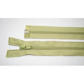 Zips špirála deliteľný 5mm - dĺžka 65cm,zelená