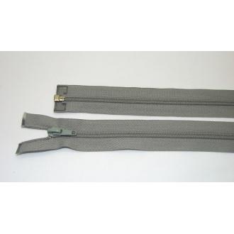 Zips špirála deliteľný 5mm - dĺžka 80cm,zelenošedý