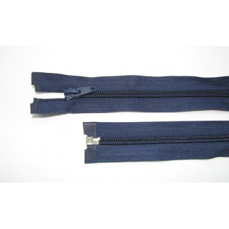 Zips špirála deliteľný 5mm - dĺžka 85cm,tmavo modrý