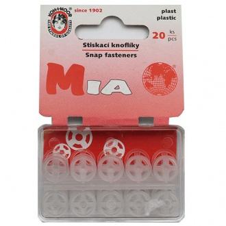 Gombík stláčací přišívací MIA - vel. 3/10mm (133135)