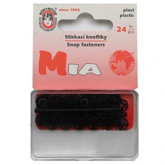 Gombík stláčací přišívací MIA - vel. 1/2 - 7mm (133128)