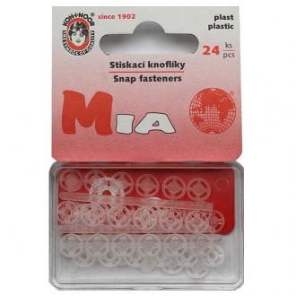 Gombík stláčací přišívací MIA - vel. 1/2 - 7mm (133135)