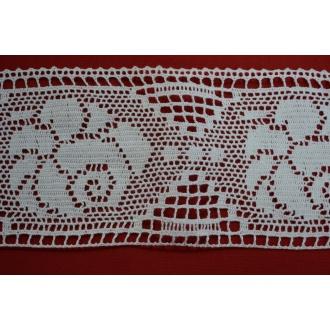 Krajka bavlna 10 cm - (331084)