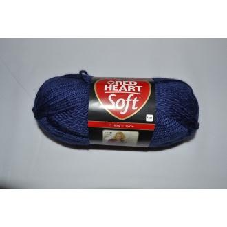 Soft 100g - 00006 tmavo modrá
