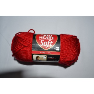 Soft 100g - 09925 červená