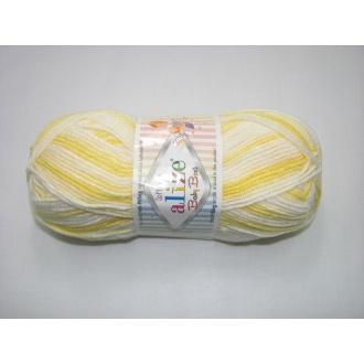 Alize Baby Best batik 100g - 6661 melír dúhový