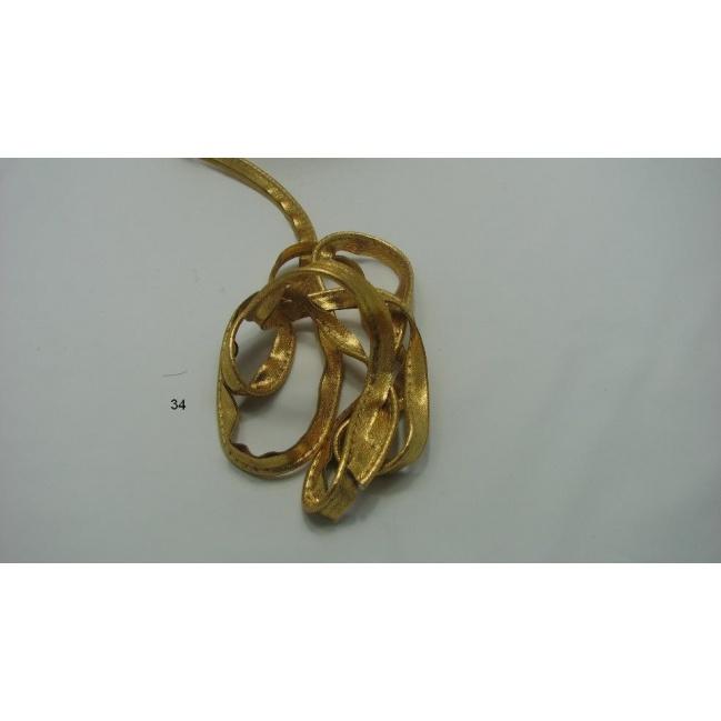 Lampas -paspulka, zlatý