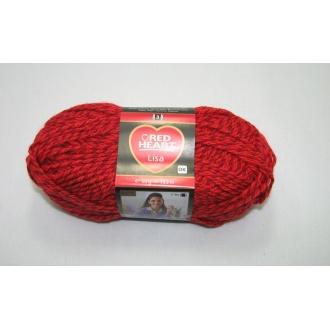Lisa 50g-05680 červený melír